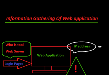 information gathering of web application
