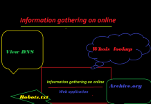 online information gather